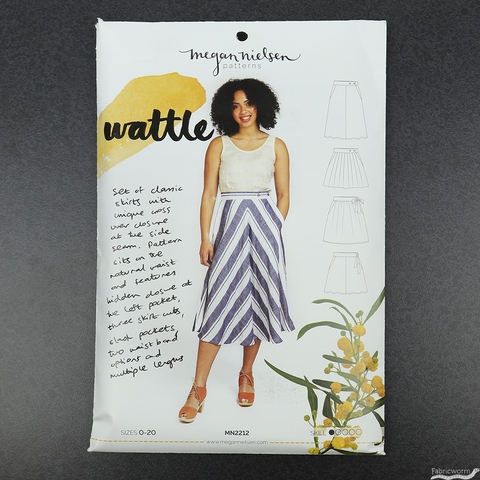 Megan Nielsen, Sewing Pattern, Wattle Skirt