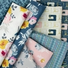Melissa Mora for Riley Blake, Blooms and Bobbins in FAT QUARTERS 8 Total