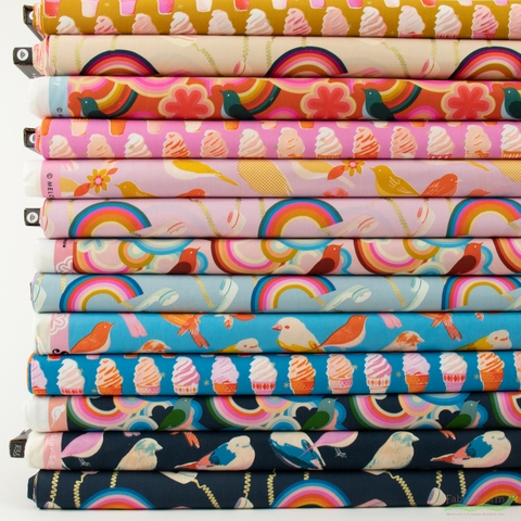 Melody Miller for Ruby Star Society, Social, Prints in FAT QUARTERS 13 Total (PRECUT)