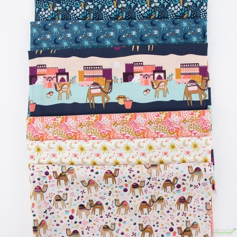 Michelle Parascandolo for Cotton and Steel, Sahara in HALF YARDS 6 Total
