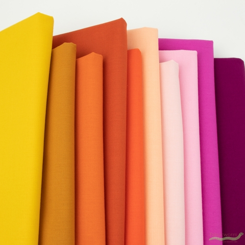 Moda, Bella Solids, Betty Orange