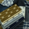 Moda, Boro Wovens, Patch Stripe Dark Indigo