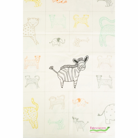 "Moda, Savannah, Critters Galore Panel Multi (24"" Panel)"