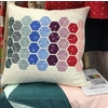 Modern Handcraft, Sewing Pattern, Hexie Pillow