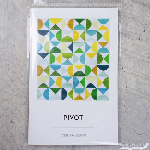 Modern Handcraft, Sewing Pattern, Pivot Quilt