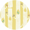 Monaluna for Birch Organic Fabrics, Circa 52, Tree Stripes Sun