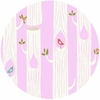 Monaluna for Birch Organic Fabrics, DOUBLE GAUZE, Tree Stripes Pink