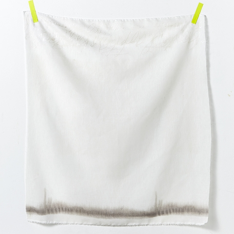Naomi Ito for Kokka Japan, Nani Iro Linen Gauze, Ripple White