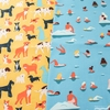 Naomi Wilkinson for FIGO, Simple Pleasures, Dogs Sunshine