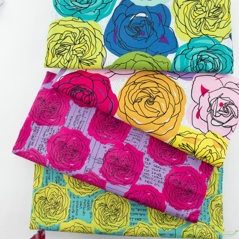 Natalie Barnes for Windham, Norma Rose, Kitchen Boutique Turquoise