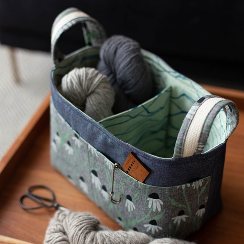 Noodlehead, Sewing Pattern, Divided Basket