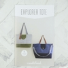Noodlehead, Sewing Pattern, Explorer Tote