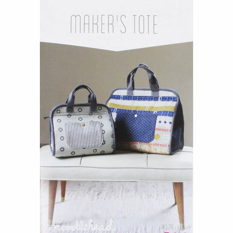 Noodlehead, Sewing Pattern, Maker's Tote