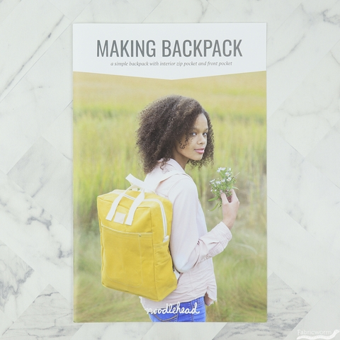 Noodlehead, Sewing Pattern, Making Backpack