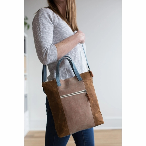 Noodlehead, Sewing Pattern, Redwood Tote