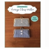 Zakka Workshop, Vintage Clasp Wallet Kit
