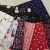 Oka Emi for Cotton and Steel, Once Upon A Time, Bold Sunset in FAT QUARTERS 9 Total (PRECUT)