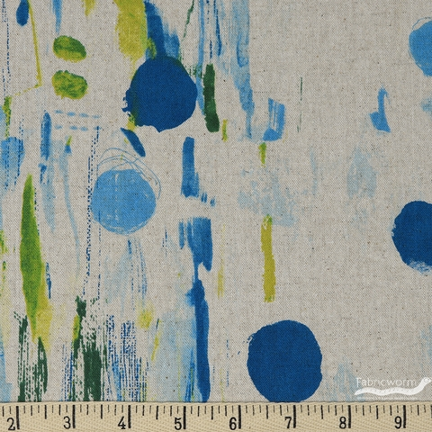 Oka Emi for Cotton and Steel, Once Upon A Time CANVAS, Flower Rain Waterfall