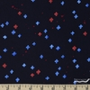 Oka Emi for Cotton and Steel, Once Upon A Time RAYON, Bouquet Burst Blue