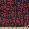 Oka Emi for Cotton and Steel, Once Upon A Time RAYON, Love Flower Cherry