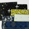 Oka Emi for Cotton + Steel, Snow Flowers, Citron in FAT QUARTERS 6 Total