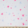 Oka Emi for Cotton + Steel, Snow Flowers, Kira Kira Boshi Snow Neon