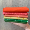 One of a Kind Fabricworm Custom Fat Quarter Bundle Thirty-Seven, 6 Total