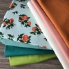 Orange Blossom Grow Quilt Kit Featuring Birch Organic Solids From Suzy Quilts