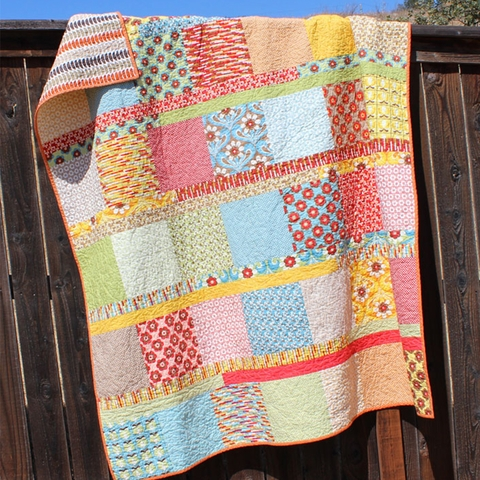 Orange Dot Quilts, Sewing Pattern, Boho Chic