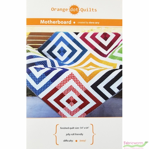 Orange Dot Quilts, Sewing Pattern, Motherboard