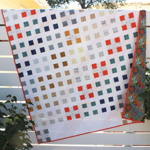 Orange Dot Quilts, Sewing Pattern, Patch Nine