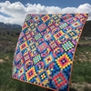 Orange Dot Quilts, Sewing Pattern, World Tour