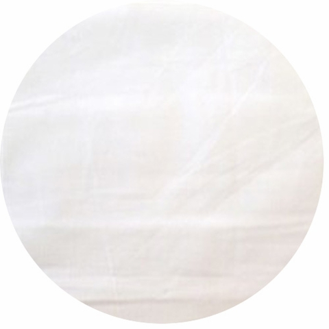 Organic Cotton Solids, White