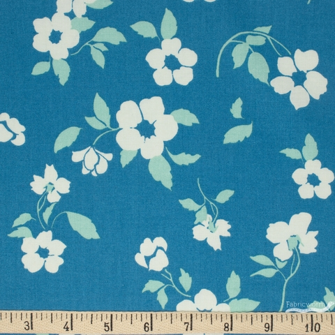 Paintbrush Studio, Tiara, Floral Flow Blue