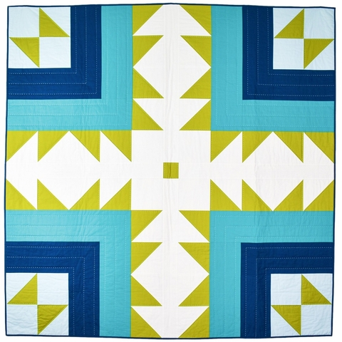 Patchwork & Poodles, Sewing Pattern, Bear Path Quilt