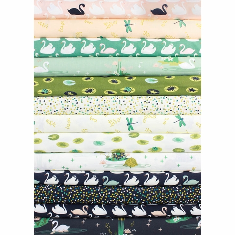 Patrick and Andrea Patton for Birch Organic Fabrics, Swan Lake 13 Total