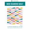 Pen + Paper, Sewing Pattern, Mod Diamond Quilt