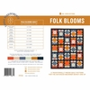 Pen + Paper, Sewing Patterns, Folk Blooms Quilt