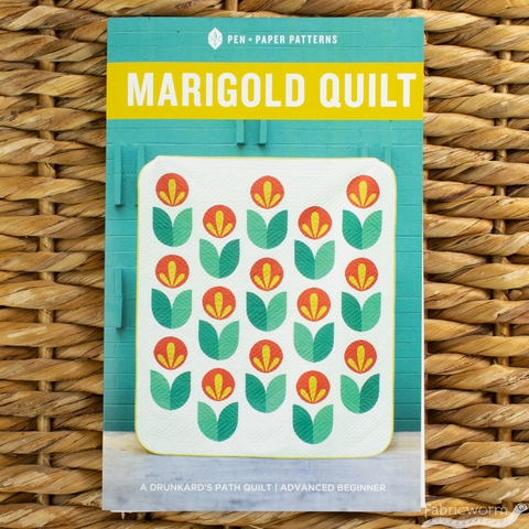 Pen + Paper, Sewing Patterns, Marigold Quilt