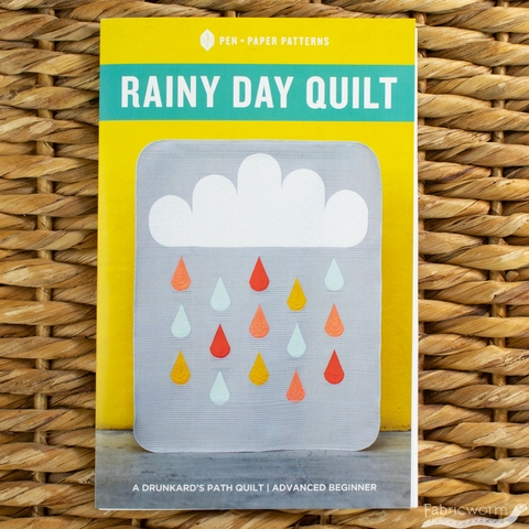Pen + Paper, Sewing Patterns, Rainy Day Quilt