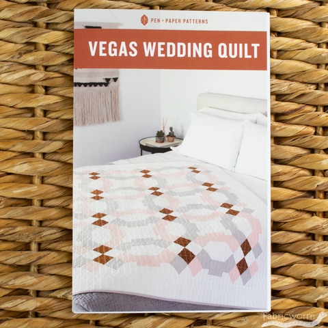 Pen + Paper, Sewing Patterns, Vegas Wedding Quilt