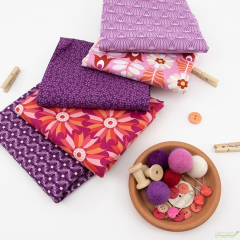 Pippa Shaw for FIGO, Midsommar, Crochet Purple