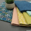Pippa Shaw for FIGO, Mountain Meadow, Here and There Teal