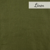 Birch Organic Fabrics, Solid Linen, Jungle Green