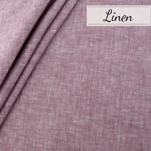 PREORDER NOW, Birch Organic Fabrics, Yarn Dyed Linen, Berry Cobbler