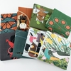PREORDER NOW, Charley Harper for Birch Organic Fabrics, Barkcloth 2021, Hexit