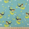 Charley Harper for Birch Organic Fabrics, Summer, Blackburnian Warbler