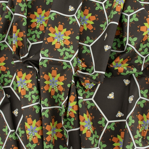 Charley Harper for Birch Organic Fabrics, Summer, Hexi Bears