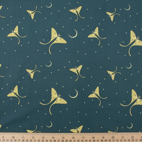 Charley Harper for Birch Organic Fabrics, Summer, Moth Flight