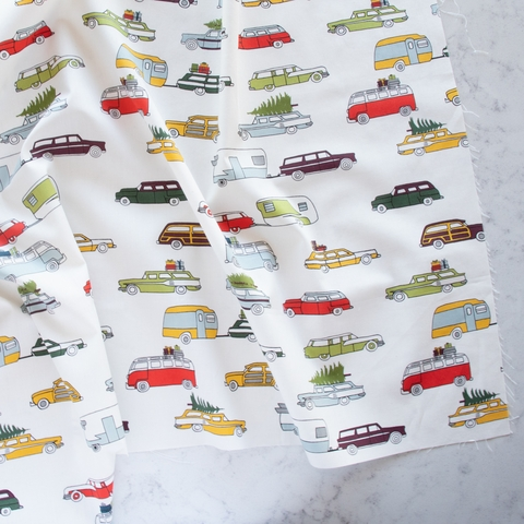 PREORDER NOW, Jay-Cyn Designs for Birch Organic Fabrics, Camp Holiday, River Rally Holiday